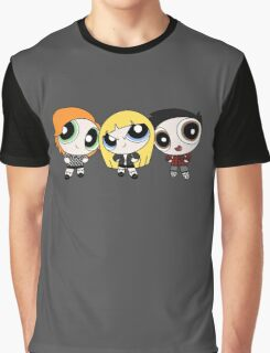 Buffy the Vampire Slayer Power Puff Graphic T-Shirt