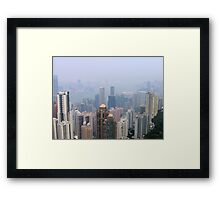 Hong Kong  Framed Print