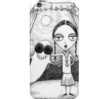 Odie and Wednesday  iPhone Case/Skin