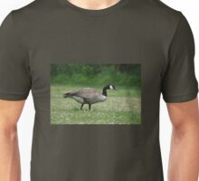 Canada Goose - on a bed of white clover Unisex T-Shirt