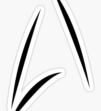STAR TREK BEYOND - KIRK'S CUP LOGO Sticker