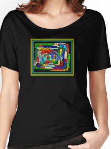 """""""Concentrification"""" Transparent Overlay Women's Relaxed Fit T-Shirt"""