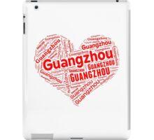 Guangzhou - Red Heart iPad Case/Skin
