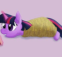 Tied-up Twilight Sparkle by Stinkehund