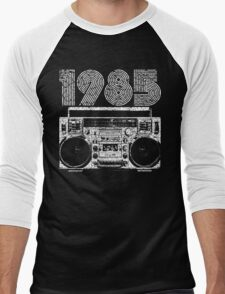 1985 Boombox Men's Baseball ¾ T-Shirt