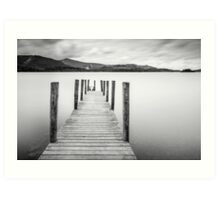 Lake District Jetty Art Print