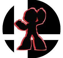 SUPER SMASH BROS: Mega Man-3DS by Manbalcar