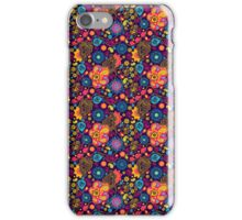 Abstract Flowers iPhone Case/Skin