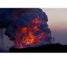 Kilauea Volcano at Kalapana 6 Photographic Print