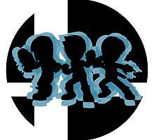SUPER SMASH BROS: Mii Fighters-Wii U by Manbalcar