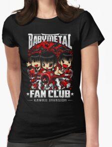 BABYMETAL Fan Club - Kawaii Invasion Womens Fitted T-Shirt