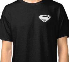 Super Men - Small - (White) Classic T-Shirt