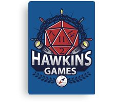 Hawkins Games Canvas Print