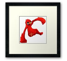 elmo cartton Framed Print