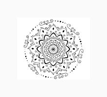 Simple black and white mandala Unisex T-Shirt