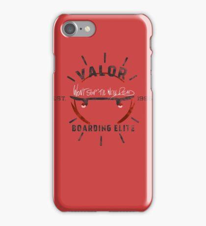 Valor Boarding iPhone Case/Skin