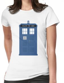 The Doctors TARDIS Womens Fitted T-Shirt