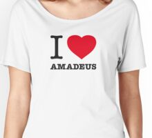 I ♥ AMADEUS Women's Relaxed Fit T-Shirt