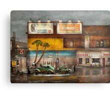 Gas Station - Dreaming of summer 1937 Metal Print