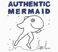 Authentic Mermaid One Piece - Long Sleeve