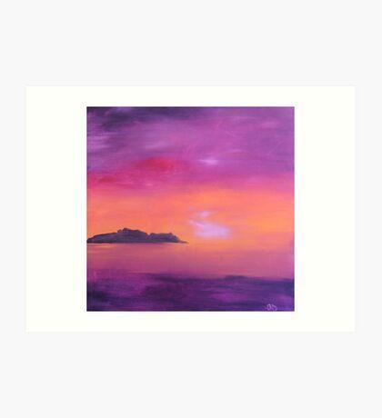 Barassie Sunset Art Print