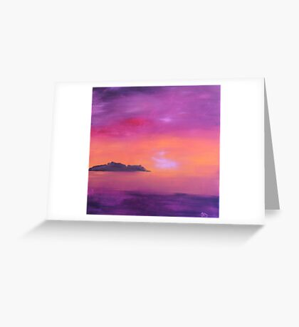 Barassie Sunset Greeting Card