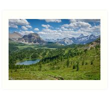The Continental Divide Art Print