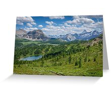 The Continental Divide Greeting Card