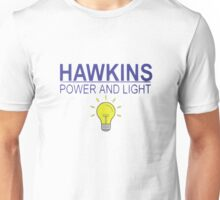 Hawkins Power and Light Unisex T-Shirt
