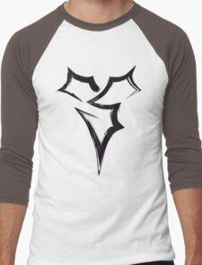 Zanarkand Abes Symbol - Black Edition Men's Baseball ¾ T-Shirt