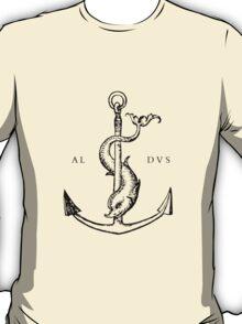 Festina Lente - Aldus Manutius Printer's Mark T-Shirt