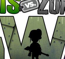 PLANTS VS ZOMBIES GW TWO Sticker