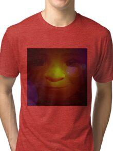 Der kleine Elf Nr. 02 Tri-blend T-Shirt