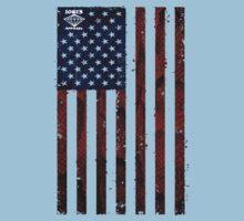 US Snakeskin Flag Kids Clothes