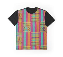 Colours of Africa (22) of a series of African Colours, KENTE of the Ashanti and Ewe in Ghana Graphic T-Shirt