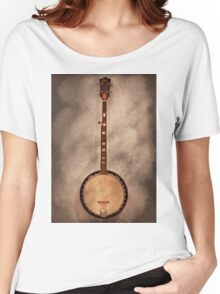 Music - String - Banjo  Women's Relaxed Fit T-Shirt
