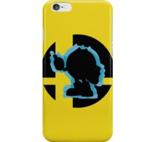 SUPER SMASH BROS: Pac-Man-Wii U  iPhone Case/Skin