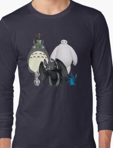 Animated Cute Long Sleeve T-Shirt