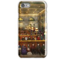 Train Station - Waiting in Grand Central Station 1904 iPhone Case/Skin