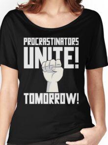 Procrastinators Unite Tomorrow T Shirt Women's Relaxed Fit T-Shirt