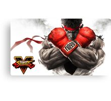 STREET FIGHTER V RYU KEN Canvas Print