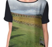 Vineyard Chiffon Top