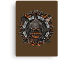 GNG Crest Canvas Print
