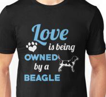 BEAGLE LOVE. Unisex T-Shirt