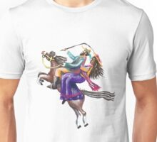 Captain Thunderbolt and His Mrs. Unisex T-Shirt