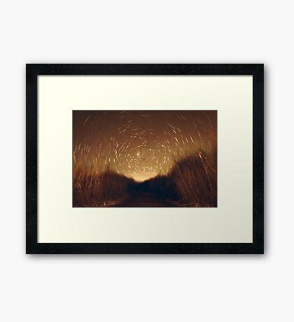 Star Trail Framed Print