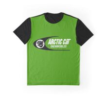 Arctic Cat Vintage Snowmobiles Graphic T-Shirt