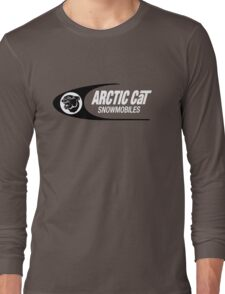 Arctic Cat Vintage Snowmobiles Long Sleeve T-Shirt