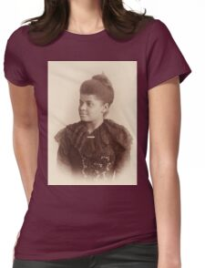Potrait of Ida B. Wells by Mary Garrity (1893) Womens Fitted T-Shirt