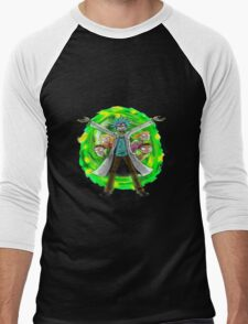 rick and morty 3 Men's Baseball ¾ T-Shirt